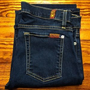7 For All Mankind Size 30 Blue The Skinny Bootcut